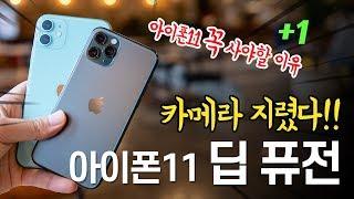 아이폰11 꼭 사야할 이유?? 아이폰 11 딥퓨전 후기 [😳카메라 더 좋아졌다!!]