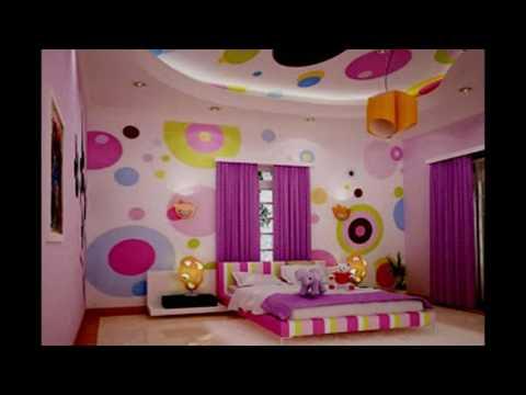 Desain Kamar Tidur Anak Perempuan Ukuran 3x3 Modern Youtube