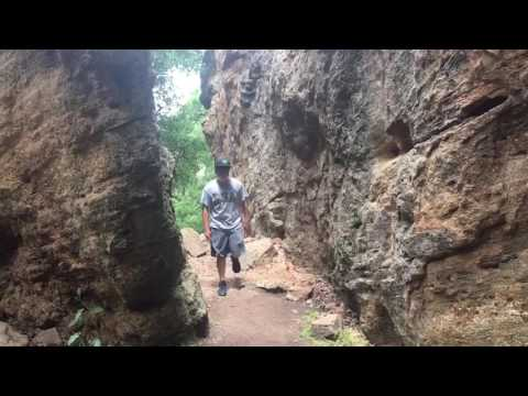 Mineral Wells State park Hiking, Rock Climbing, Fishing, Exploring, Fun! Ep 1