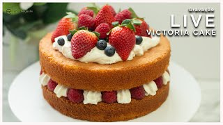 Victoria Cake   Gravação Live com a Chef Erika Hayashi
