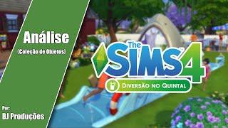 Análise - The Sims 4 - Diversão no Quintal - Coleção de Objetos