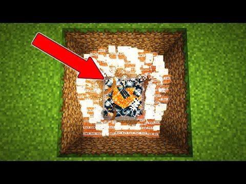 BLINDING EXPLODING SQUID TROLL IN MINECRAFT!