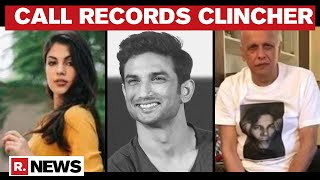Sushant Death Case: Rhea's Call Records Accessed; 16 Calls Made To Mahesh Bhatt