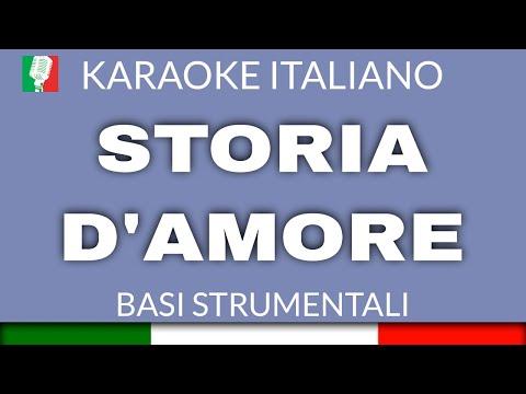 ADRIANO CELENTANO - STORIA D'AMORE - KARAOKE ITALIANO