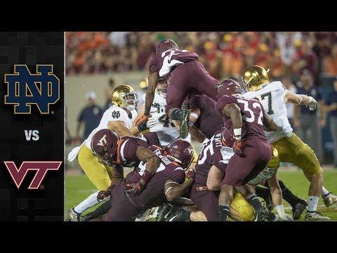 Notre Dame vs. Virginia Tech Football Highlights (2018)