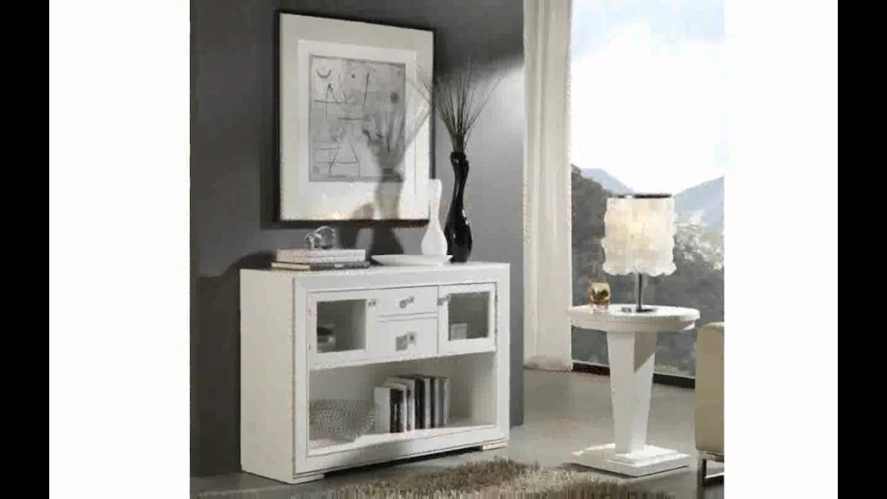 Muebles consolas youtube for Mesas de recibidor ikea