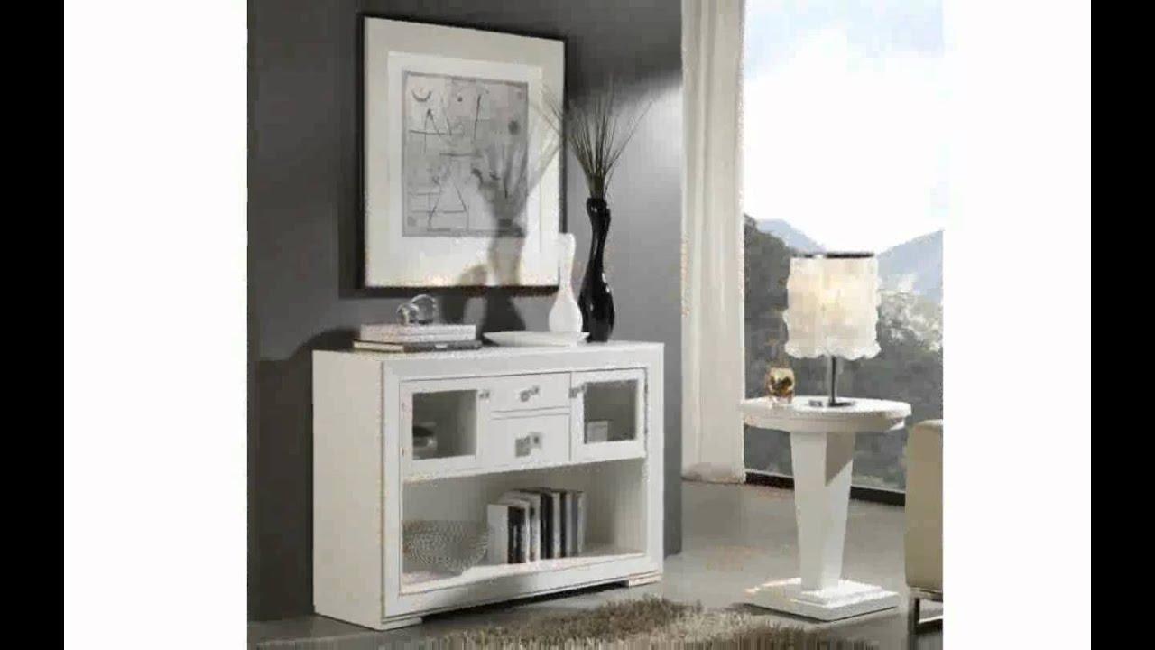 Muebles de recibidor baratos escritorio blanco mod - Muebles entrada baratos ...