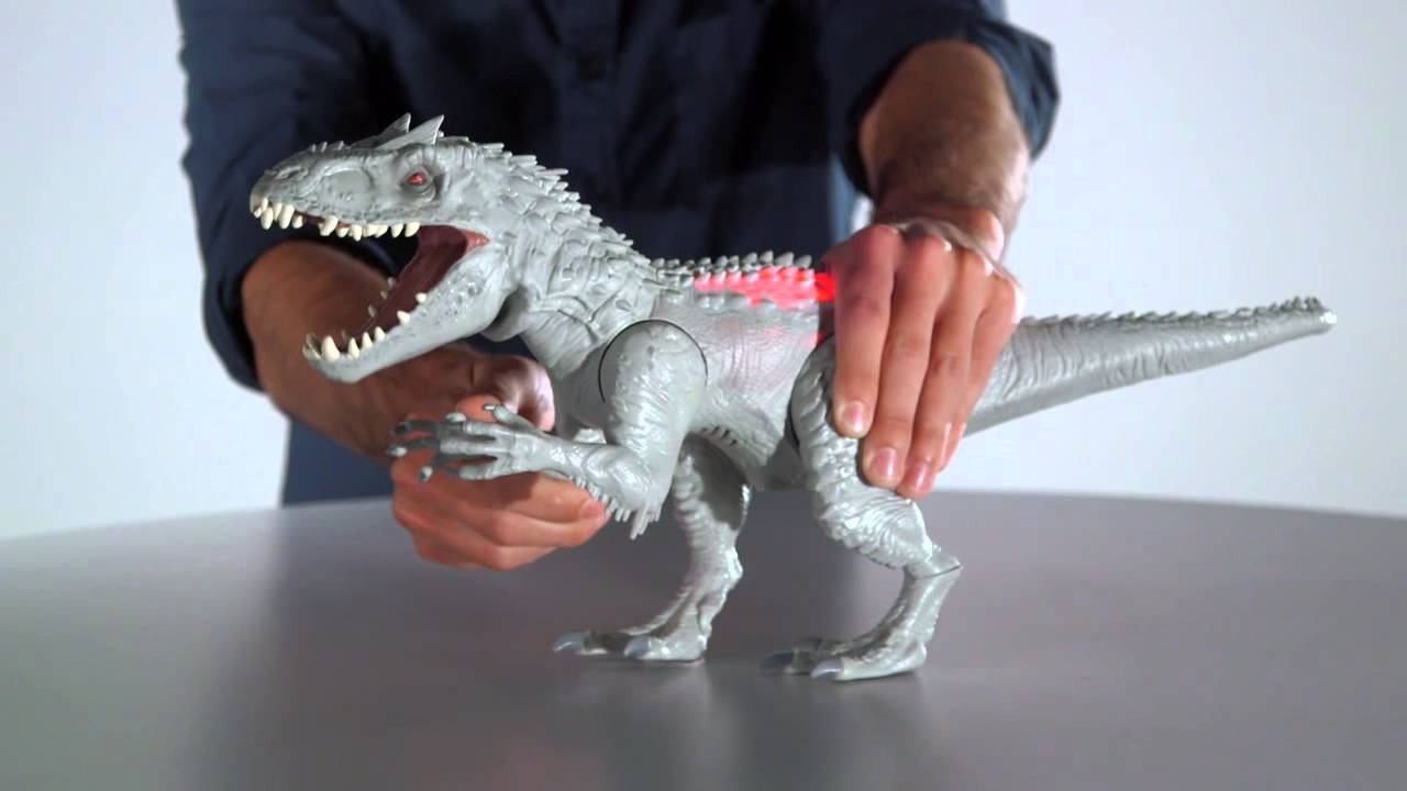 T Rex Toy Smyths Teksta T Rex Youtube Jurassic World Attack Pack