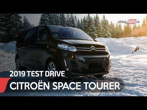2019 CITROËN SPACE TOURER car review | eblogAUTO