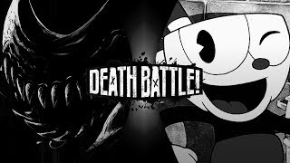 Fan Made DEATH BATTLE trailer | Bendy vs Cuphead.