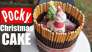 Japanese Christmas POCKY Cake - You Made What?!