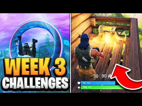 Fortnite Season 9 Week 3 Challenges GUIDE! How To Do Week 3 Challenges In Fortnite - Tutorial