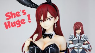 Unboxing a Giant Erza Scarlet Bunny Figure
