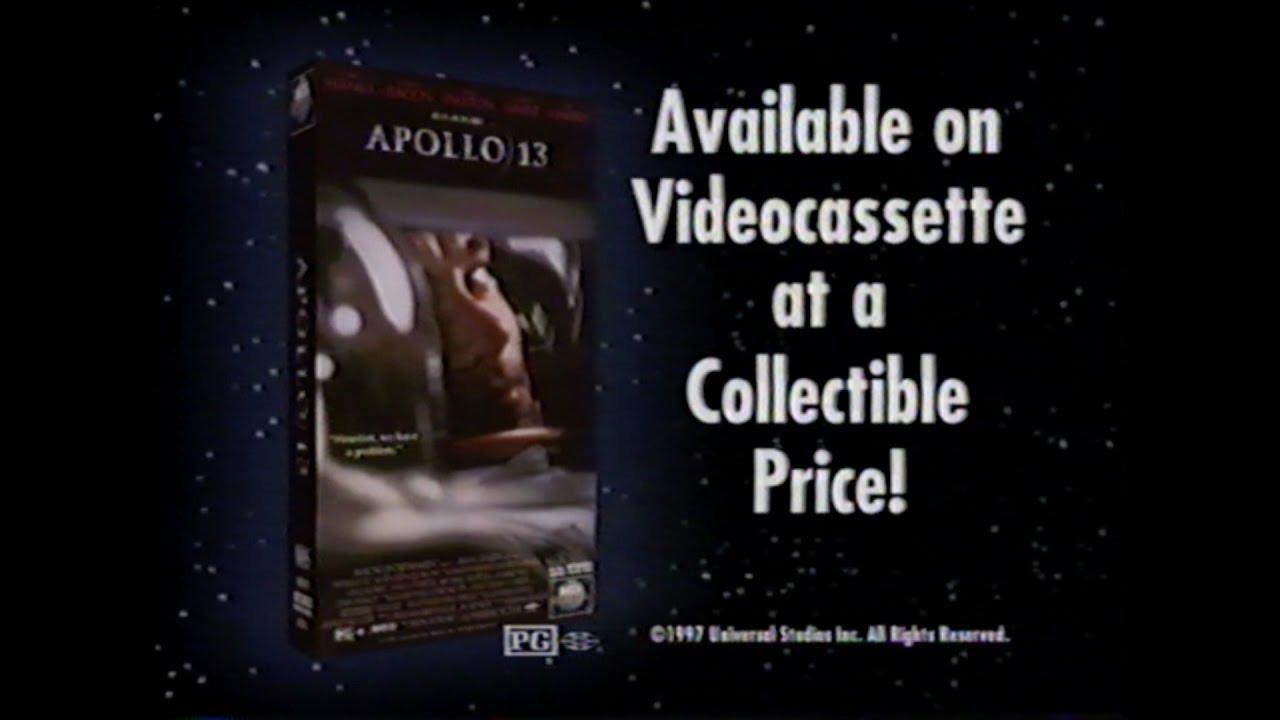 APOLLO 13 MOVIE TRAILER [VHS] 1995/1997 - YouTube