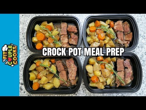 How To Meal Prep - Ep. 62 -  CROCK POT POT ROAST ($3.50/Meal)