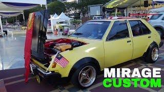 Mitsubishi Colt Mirage | Old School Car | Modified Autoshow Restoration