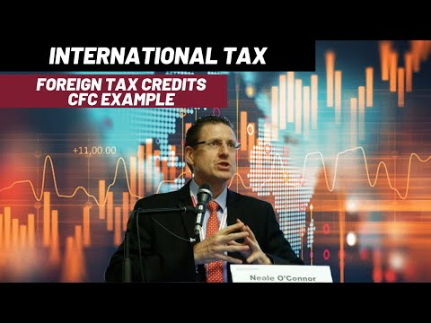 International Tax - Part 14 - Foreign Tax Credits - CFC Example