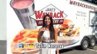 MyTV9 Star, Tulin, Appears at Jake's Wayback Burgers in Torrington, CT