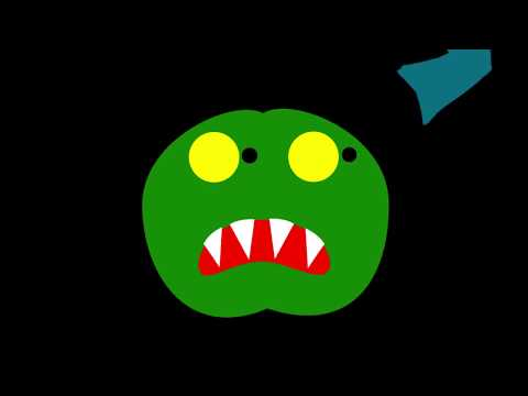 Va t'en, Grand Monstre Vert! (animation After effects)