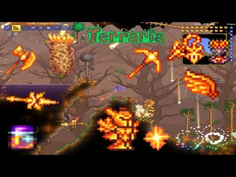 Terraria How To: Get All The Solar Weapons, Armor, Gear + MORE