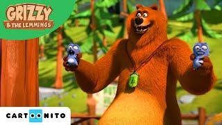 Grizzy I Lemingi  Majsterkowanie  Boomerang