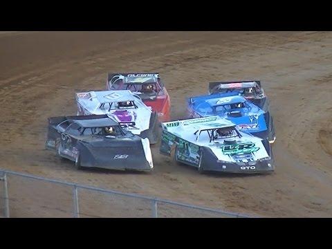ULMS Super Late Model Heat Three | McKean County Raceway | 7-14-16