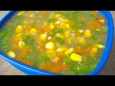 Sweet Corn Soup Recipe From Indo-Chinese Cuisine By Sameer Goyal @ ekunji.com