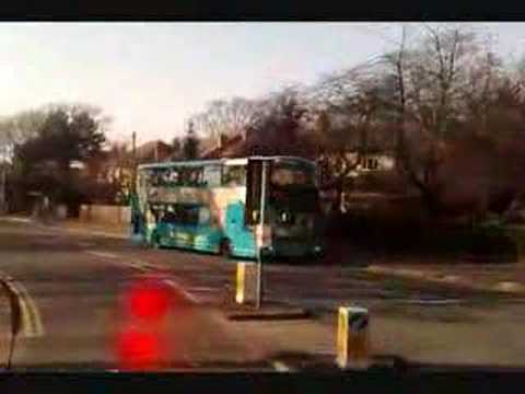 Bus ride from Thurnby Lodge to Leicester City Centre