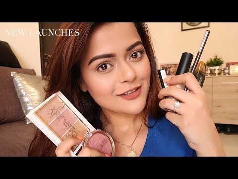 Trying New Makeup | Nykaa Eyebrow Range, Flower Beauty, PAC Concealer | Full Demo & Review