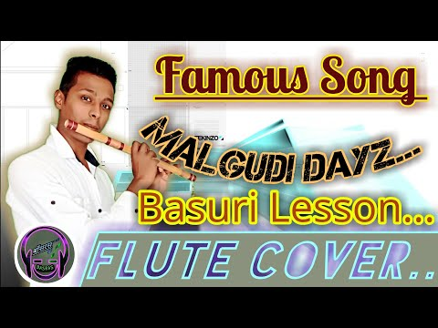 ||Malgudi Days||Title Theme Flute Tutorial||dont MissFAST&FLUTE Akash RS Tiwari