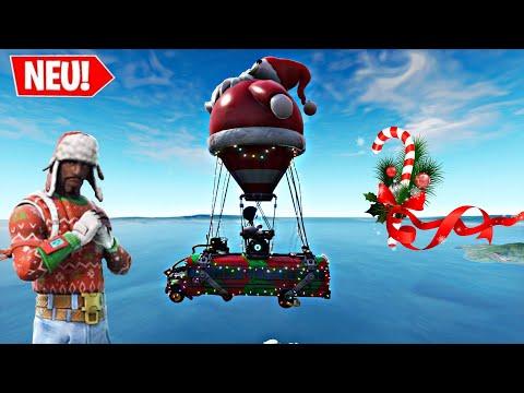Fortnite New Christmas Battle Bus Music Season 7 Youtube