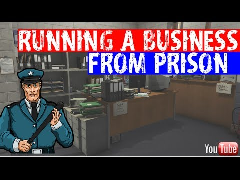 RUNNING A BUSINESS FROM PRISON! 6/5/17