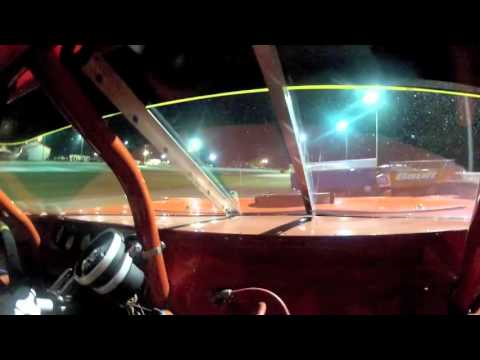 Barberton Speedway 75 September 27th 2015 Late Model Bubba Smith In-Car