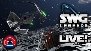 Totally TIE Fightering - SWG Legends Live