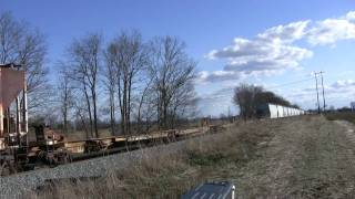 CSX Train in Knox County, Indiana