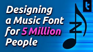 How I Designed a Free Music Font for 5 Million Musicians (MuseScore 3.6)
