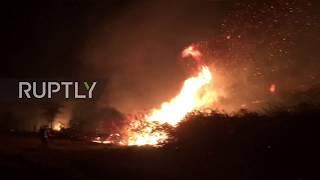 Spain: Locals battle raging inferno as Hurricane Ofelia fuels wildfires in Galicia