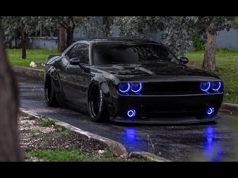 Charger Srt Hellcat >> Liberty Walk Dodge Challenger SRT Turbo on Strasse Wheels ...