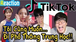 (Reaction)Hot Tik Tok videos from Vietnamese graduates!  l JBros Người Hàn Quốc Reacion