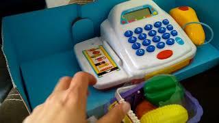 Oyuncak yazar kasa aldık, oyuncak açma videoları, eğlenceli çocuk videosu izle