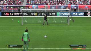 FIFA 14 Das Längste Elfmeter-schießen aller zeiten