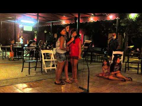 MVI 3799  at welk July 2013 Indi an Kimber and Piper Karaoke
