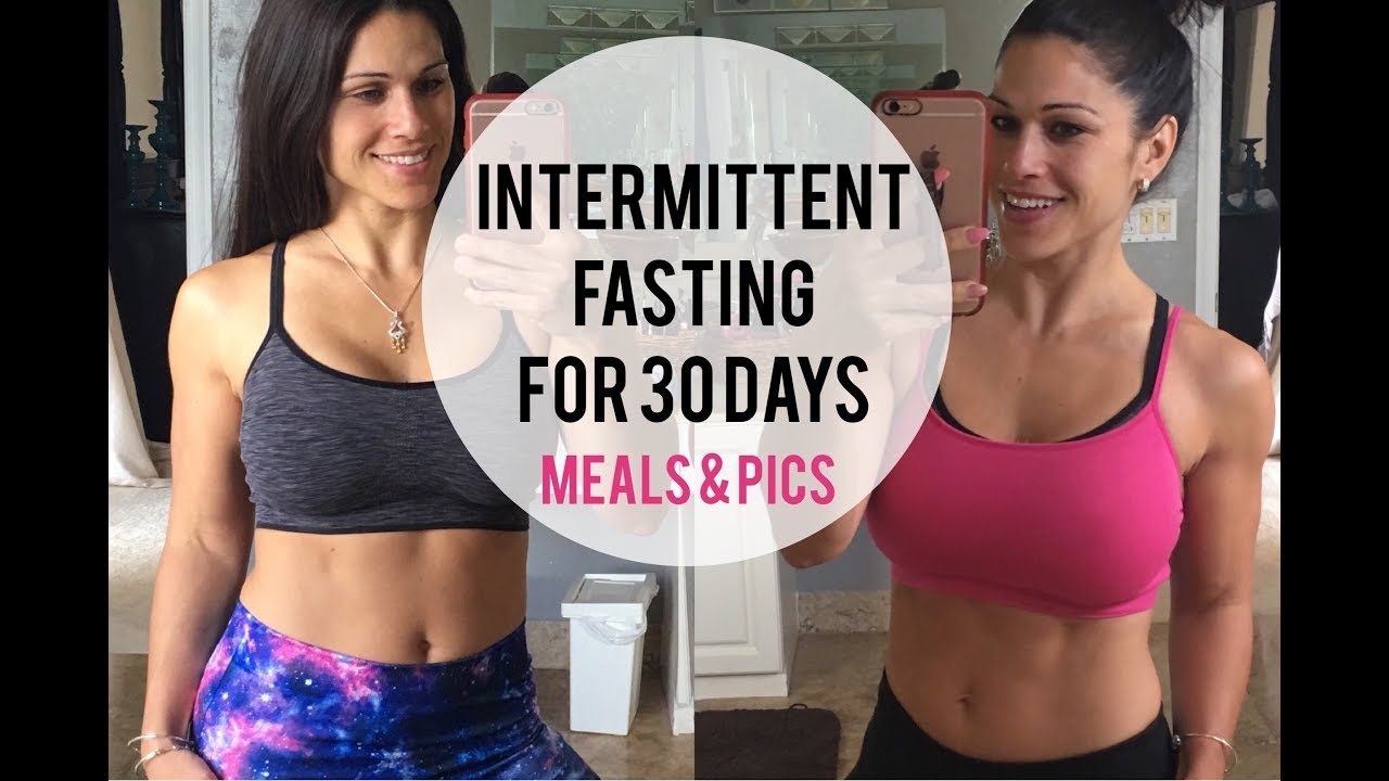 My Results Intermittent Fasting For 30 Days Why Meals Pics