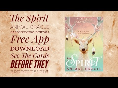 the-spirit-animal-oracle-cards-review-(digital)-see-the-cards-before-they-are-released!!!
