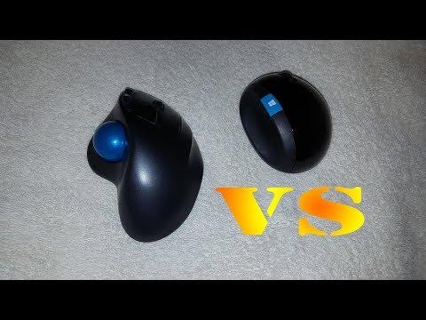 Logitech Trackball VS Microsoft Sculpt