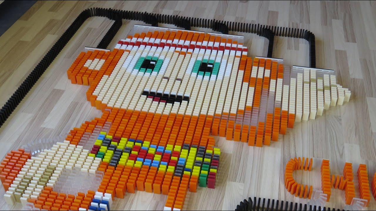 Chico Bon Bon in 47,000 dominoes