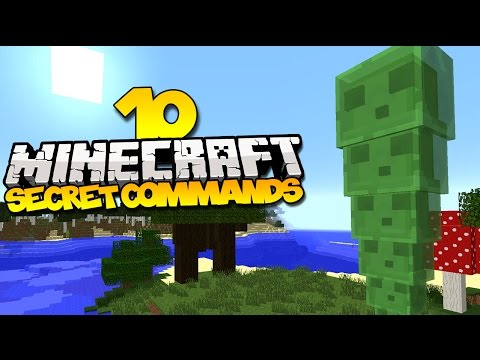 10 Secret Minecraft Commands You Might Not Know About