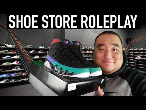 [ASMR] Shoe Store RP 👟   MattyTingles