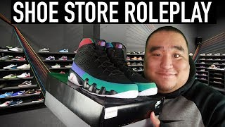 [ASMR] Shoe Store RP 👟 | MattyTingles