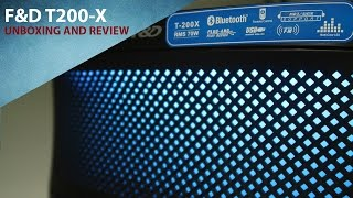 F&D T200-X 2.1 Speakers Unboxing and Review
